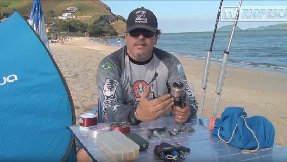 RIOPESCA – Saiba quais são os materiais básicos para a pesca de praia